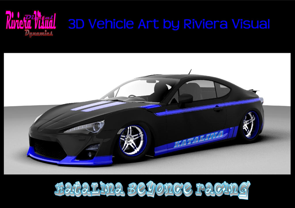 3D Vehicle Art and Design by Riviera Visual ~ Kata by RivieraVisual