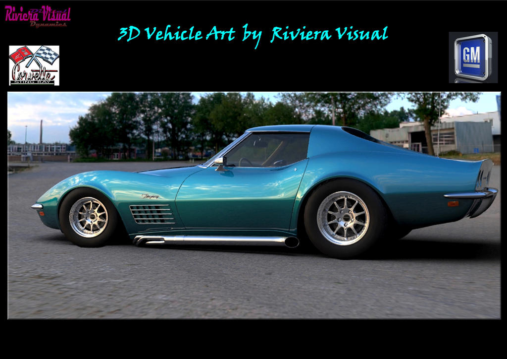 3D Vehicle Art by Riviera Visual by RivieraVisual
