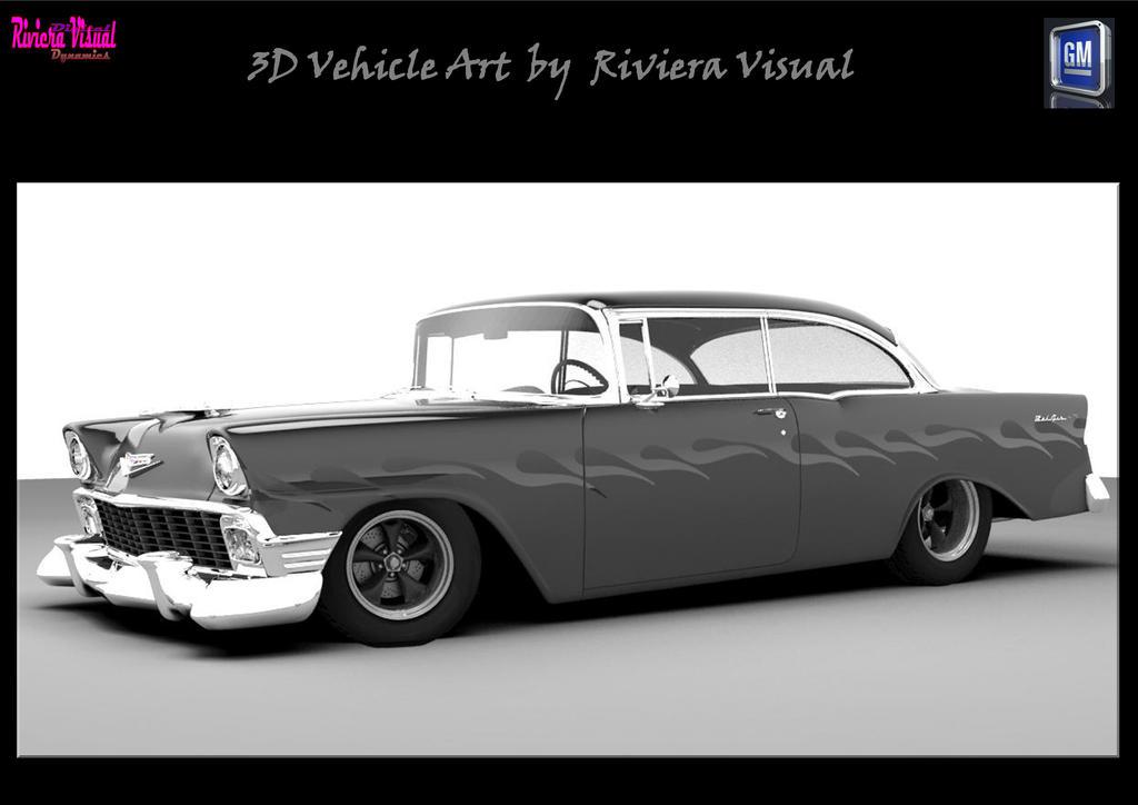 3D Custom Built Vehicle Art by Riviera Visual ~ GM by RivieraVisual