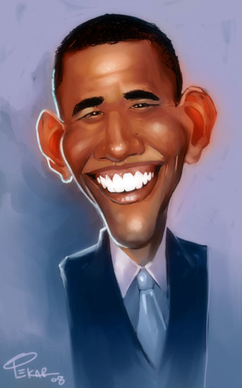 Obama by jFury