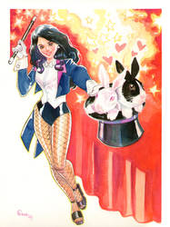 Zatanna commisison by jFury