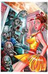 Zombies vs Cheerleaders cover by jFury