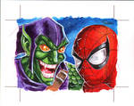 Marvel Heroes Villains card