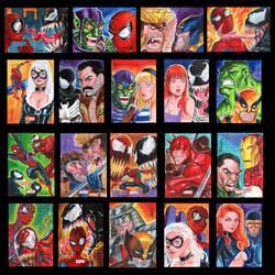 Marvel Heroes vs Villains 1 by jFury