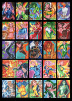Marvel Dangerous Divas by jFury