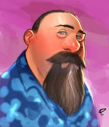 Self portrait by jFury