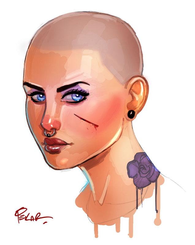 tough girl by jFury