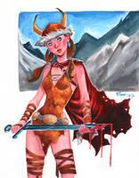 Viking Girl by jFury