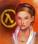 Alyx from Half Life 2