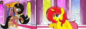 .:We've grown so much ~ Nikki and Flare:. by Bunny-Nikki1