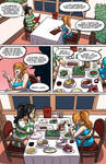 Nami and Nico Robin - Dinner Time - Page One