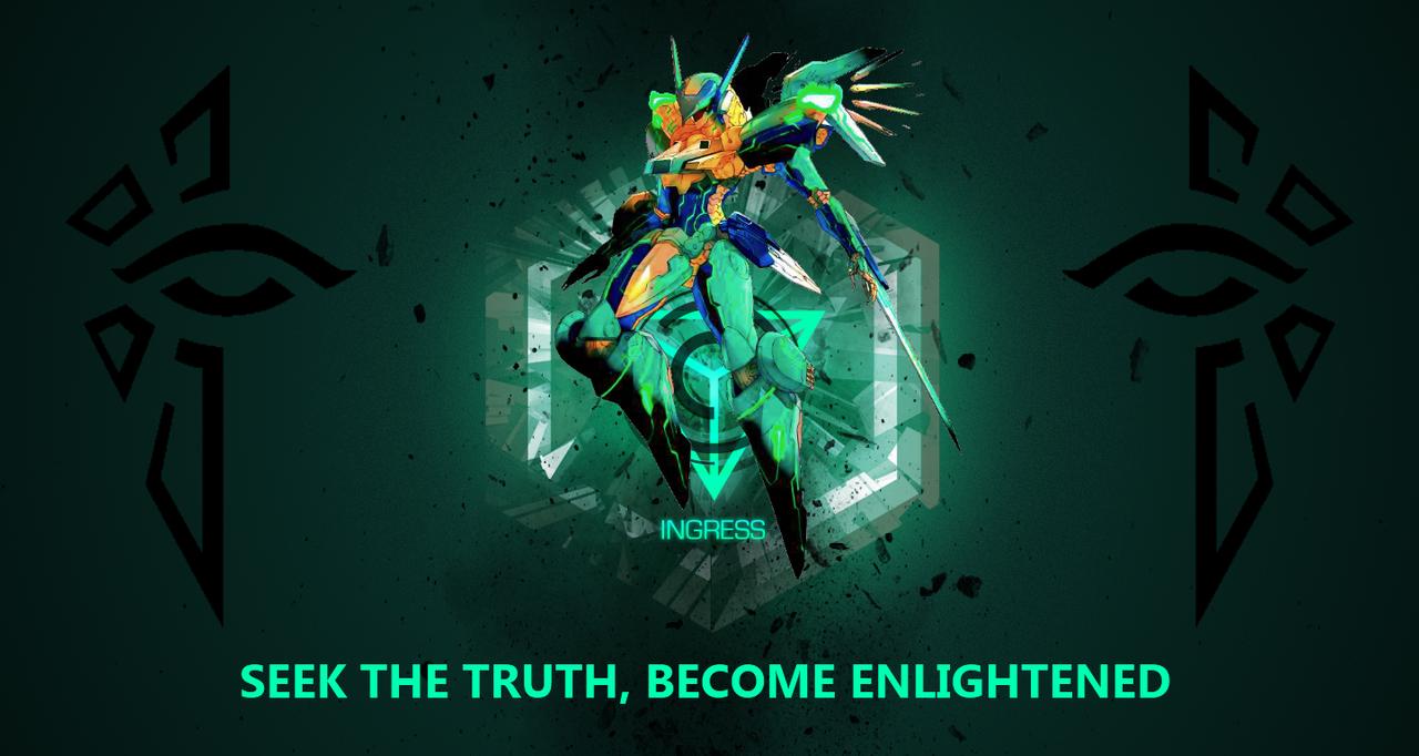 Enlightone: Ingress Enlightened Wallpaper Tryout By Synryu On DeviantArt