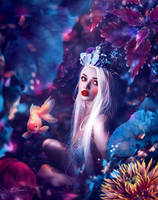 Of the deep by Elysekh