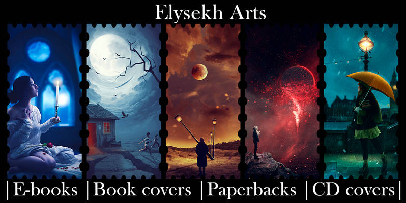 My cover design by Elysekh