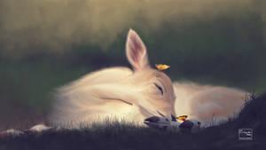 Baby deer | Digital painting
