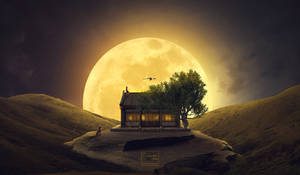 The magic of the supermoon