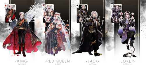 (CLOSED) FACE CARD ADOPTABLES