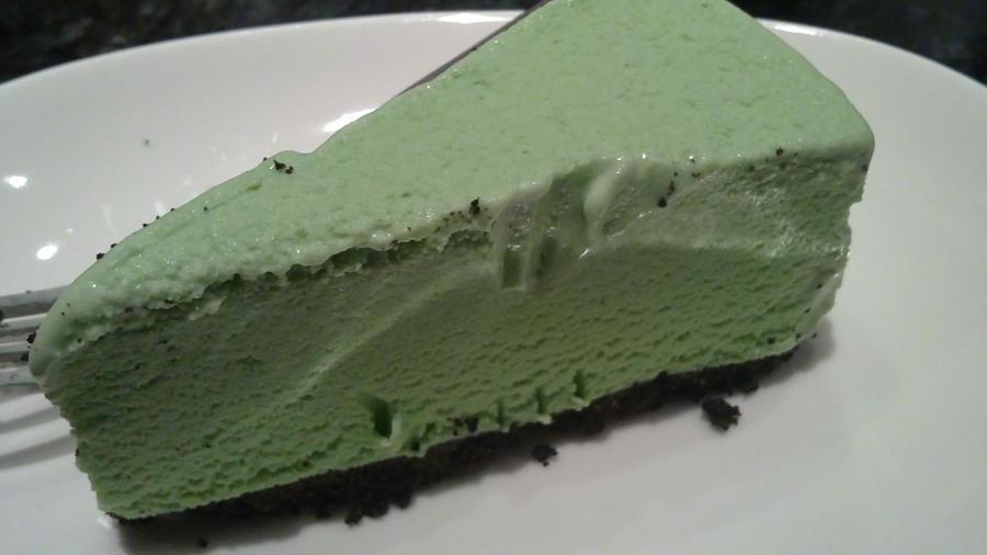 matcha icecream cake by soberheartss on deviantart