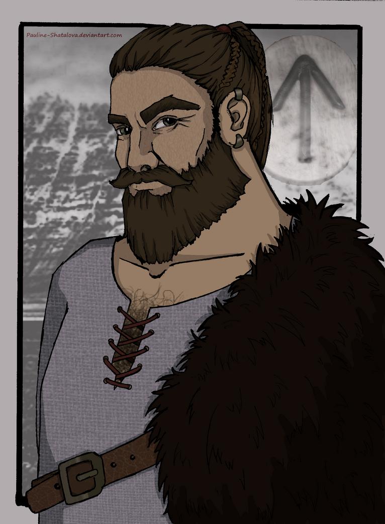 The Warrior Of The North by Pauline-Shatalova
