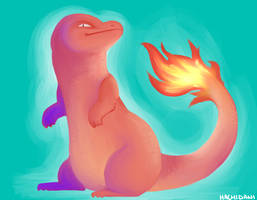 Charmander by spicyghost