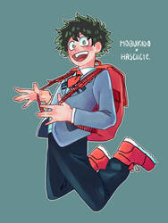Deku (collab) by Hasellete