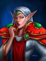 Cocky elf
