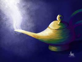 Genie's Lamp by unashock