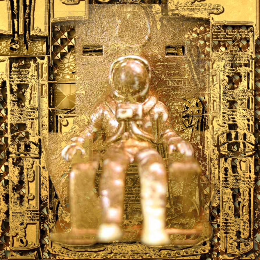 Golden Astronaut by Design-Kink