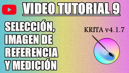 Krita Video Tutorial 9 (subt. in 7 languages) by Gequibren