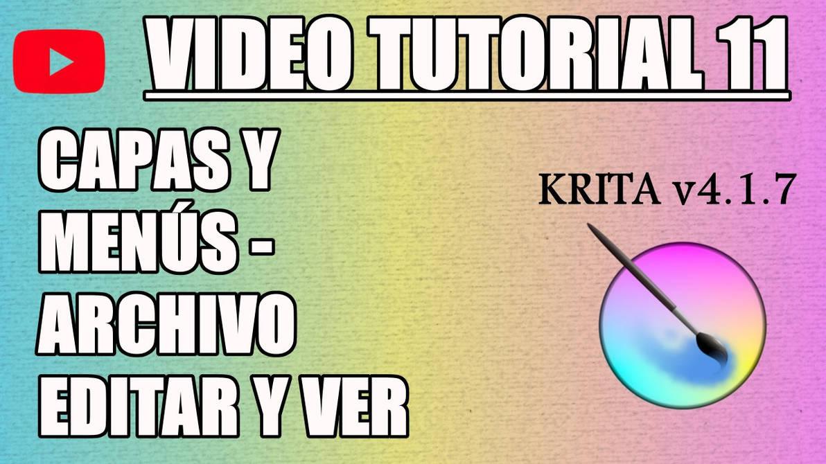Krita Video Tutorial 11 (subt. in 7 languages) by Gequibren