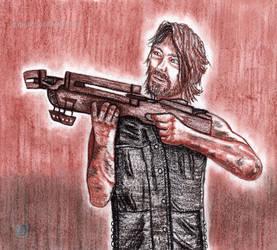(Gift) Walking Dead - Daryl Dixon