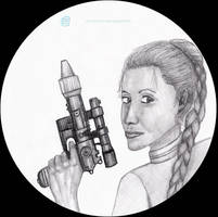 (Gift) Star Wars - Princess Leia Organa