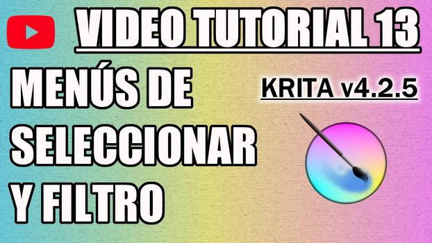 Krita Video Tutorial 13 (subt. in 7 languages)