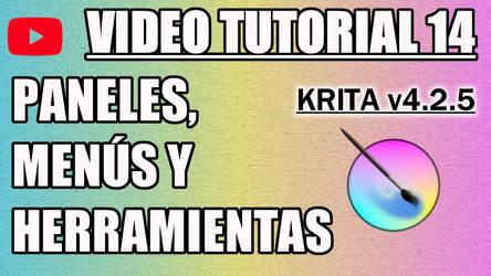 Krita Video Tutorial 14 (subt. in 7 languages)