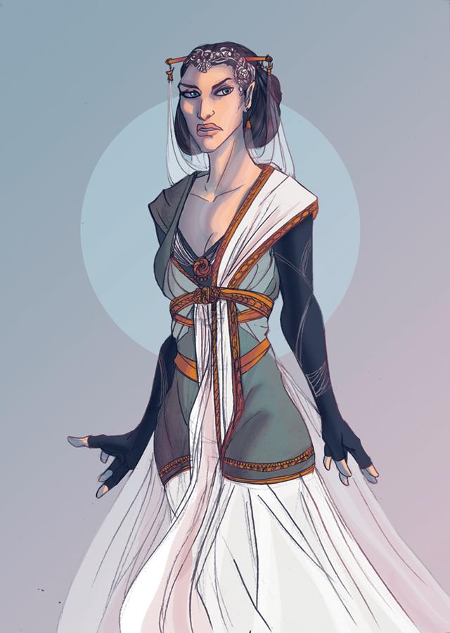 Silva's Ladies : Lliane by Amaltheren