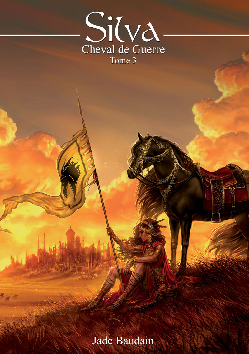 Silva 3 - Cover : War Horse by Amaltheren