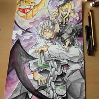 Medusa and Stein (Soul Eater)