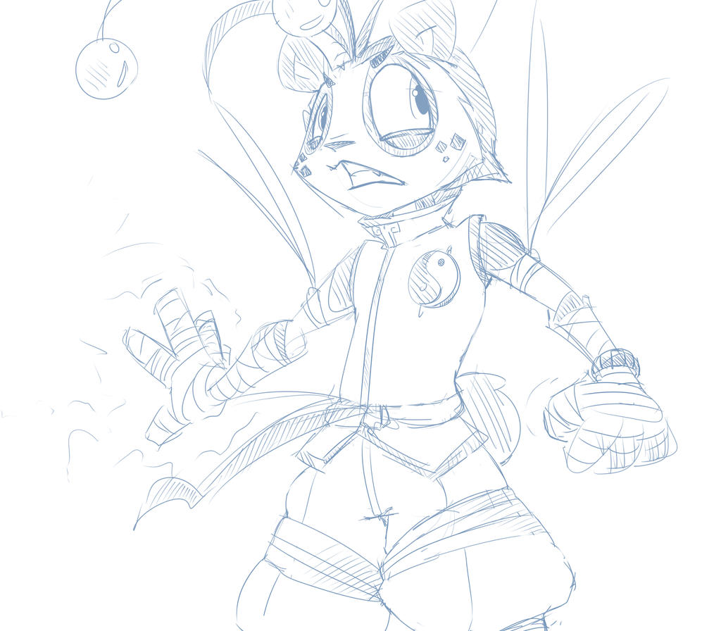 [Sketch] The One Who Cancels All Powers... by Wouhlven
