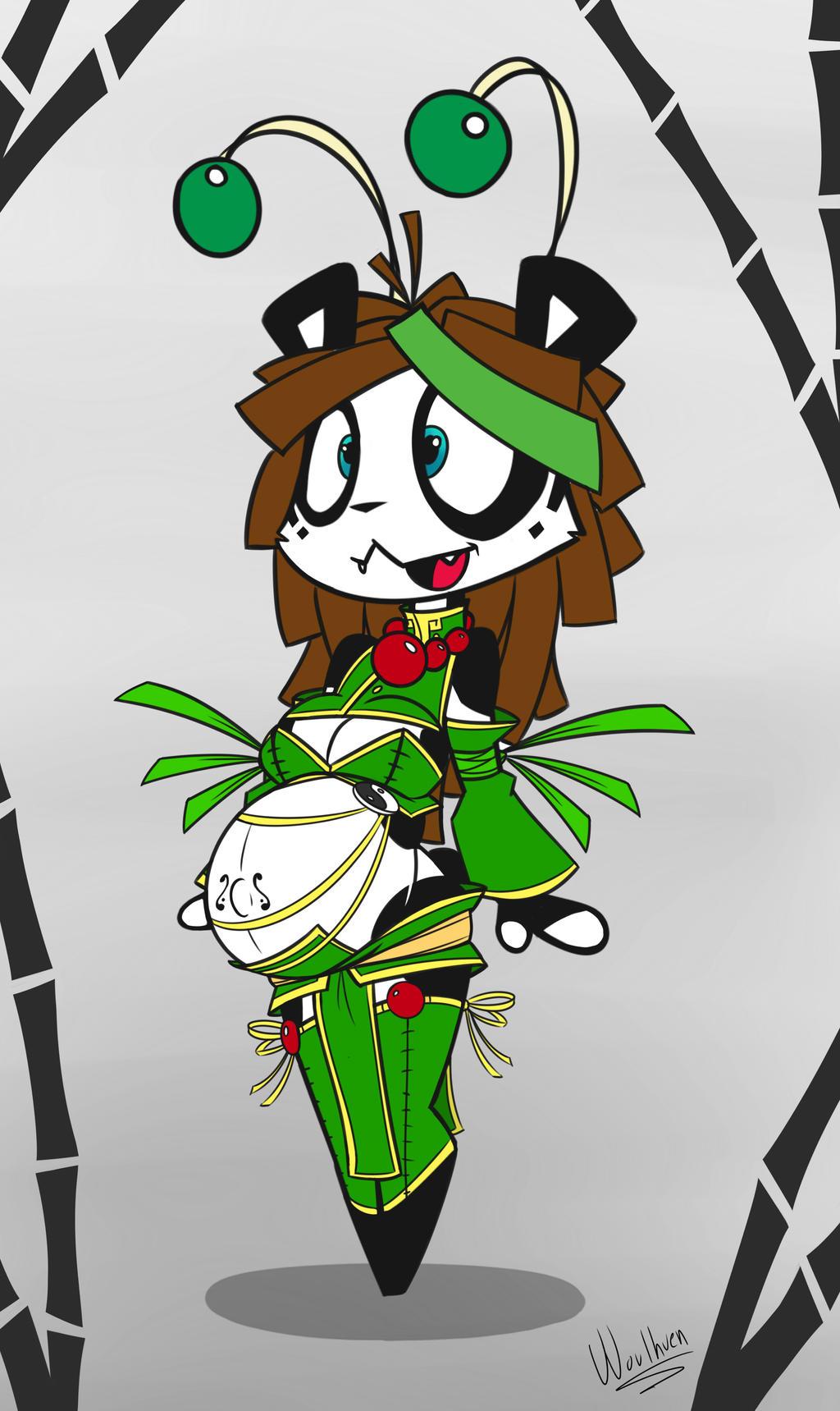 [Chibi Panda] Lil' Spring Wo by Wouhlven