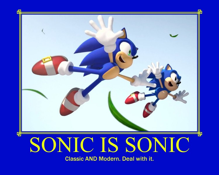 Sonic: One and the Same.