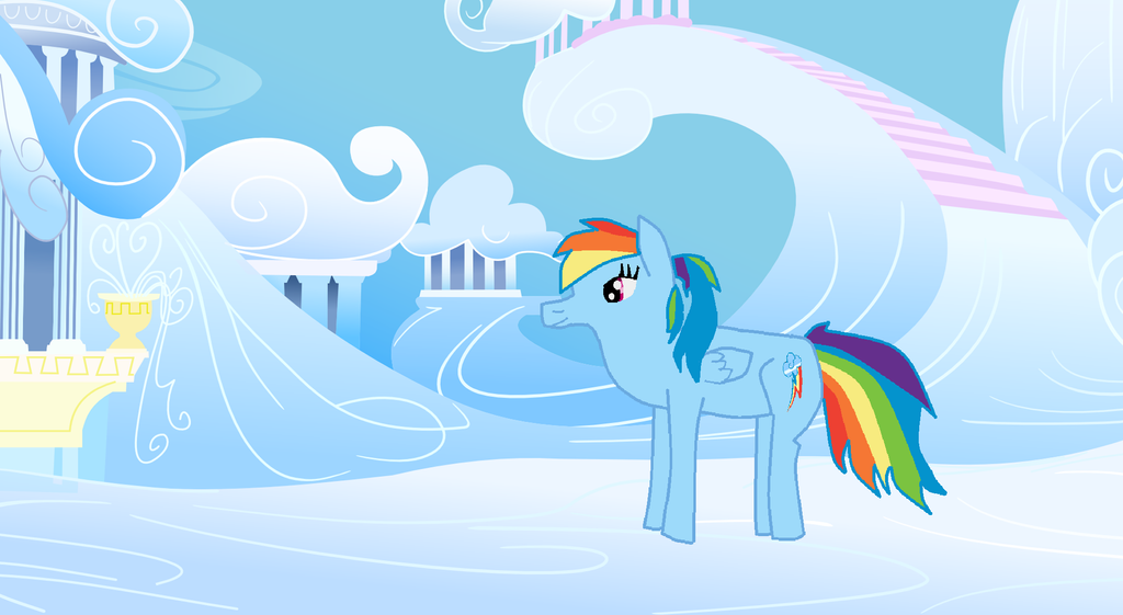 Rainbow Dash by MettaraTheFabulous