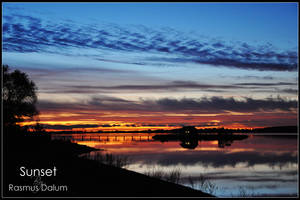 Sunset by dalum