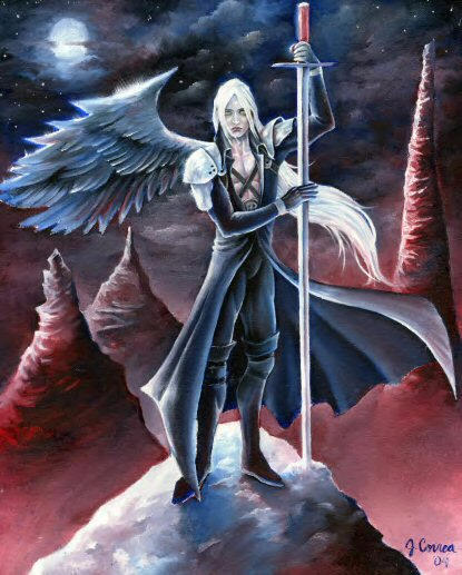 Sephiroth - One Winged Angel by sephiroths-muse on DeviantArt One Winged Angel Sephiroth