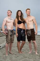 Alki Beach Fashion Shoot - 1 by CPJPhoto