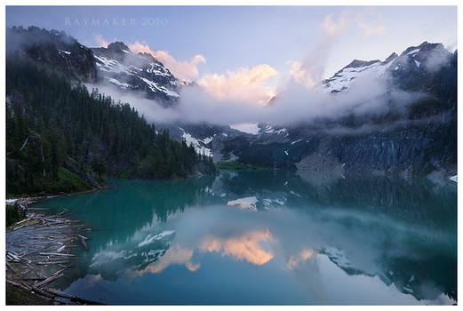 Blanca Lake Sunrise by Raymaker