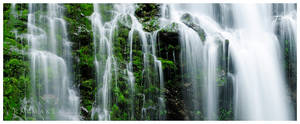 Spring Green Falls by Raymaker