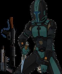 Star Wars Old Republic bounty hunter OC Parra Jayb