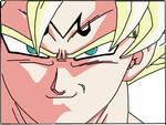 Majin Goku - Super Saiyan