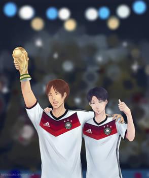 Congratulation Germany! by pandagulung
