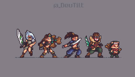 League of Legends - Pixel Art